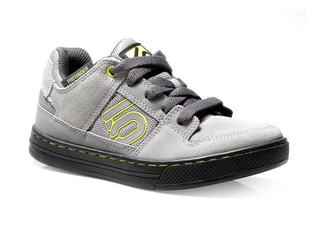 Five Ten Freerider Bike Shoes Kids Grey/Lime